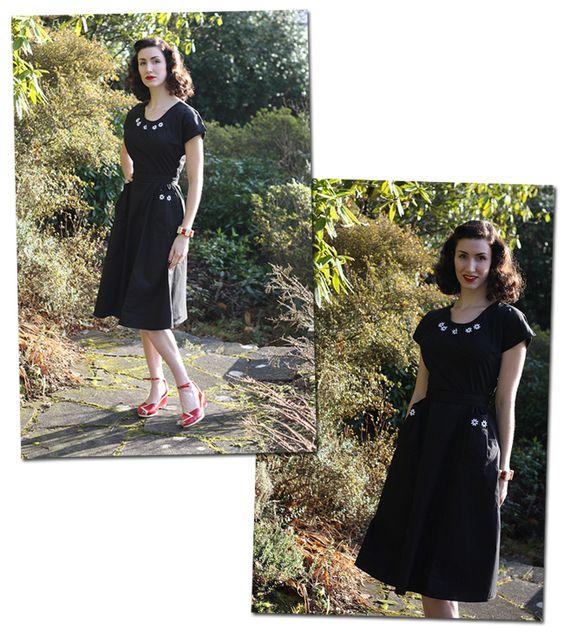 Repro 1940s Dress