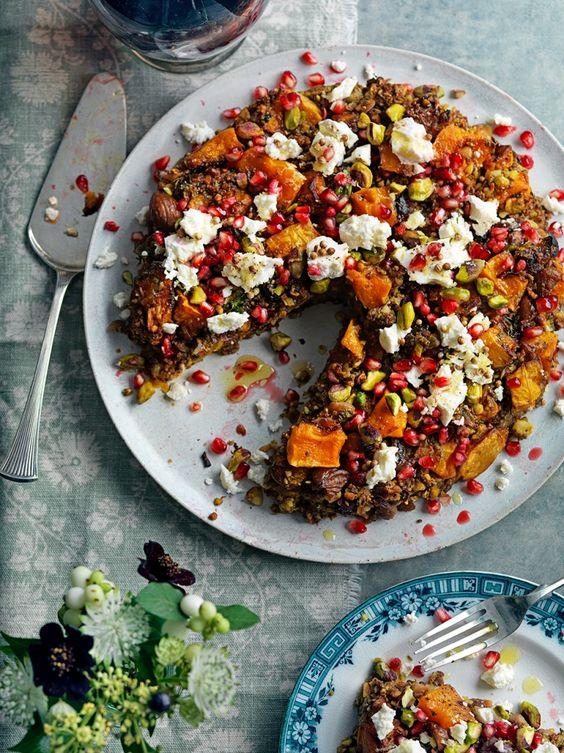 Jamie Oliver . Persian squash & pistachio roast .