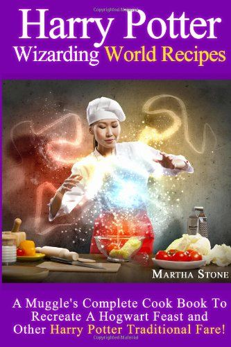 Harry Potter Wizarding World Recipes. Muggles and Wizards alike will surely enjoy this cook book that is designed solely for the Harry Potter fan. But, if you enjoy delicious and hearty meals, sweets and refreshingly unique beverages, then this recipe book is also perfect for you. This book is not only recommended for Harry Potter themed occasions but is also useful for your daily main thoroughfare.