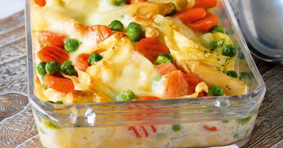 Sie mögen es gerne kernig? Dann mischen Sie einfach noch 40 g Pinienkerne mit unter das Gemüse.