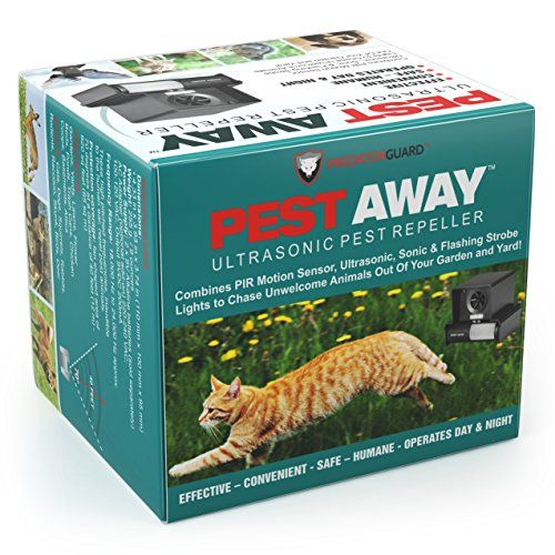 PestAway Ultrasonic Outdoor Repeller STOPS Cats, Dogs, Raccoon, Skunk, Birds, Squirrels, Rabbits and Deer From Destroying Your Gardens and Yard - It's Safe, Humane & Easy To Install - http://www.amazon.com/dp/B00WXIJHHO $49.97