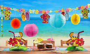 hawaiian pool party ideas - Buscar con Google