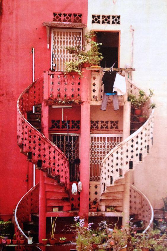 Romantic Staircase