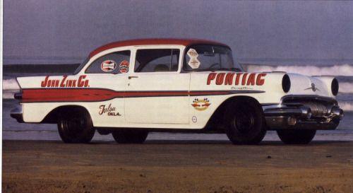 57 pontiatic at Daytona