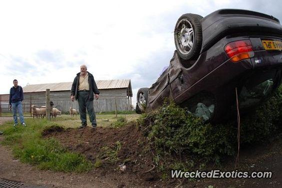 BMW M-Series M3 crashed