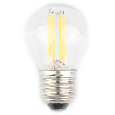 $9.85 (Buy here: http://appdeal.ru/bfxm ) 2 Pcs Zweihnder E27 4W 380Lm Nostalgic 4 LEDs Filament Ball Bulb Tungsten Light ( Warm White ) for just $9.85