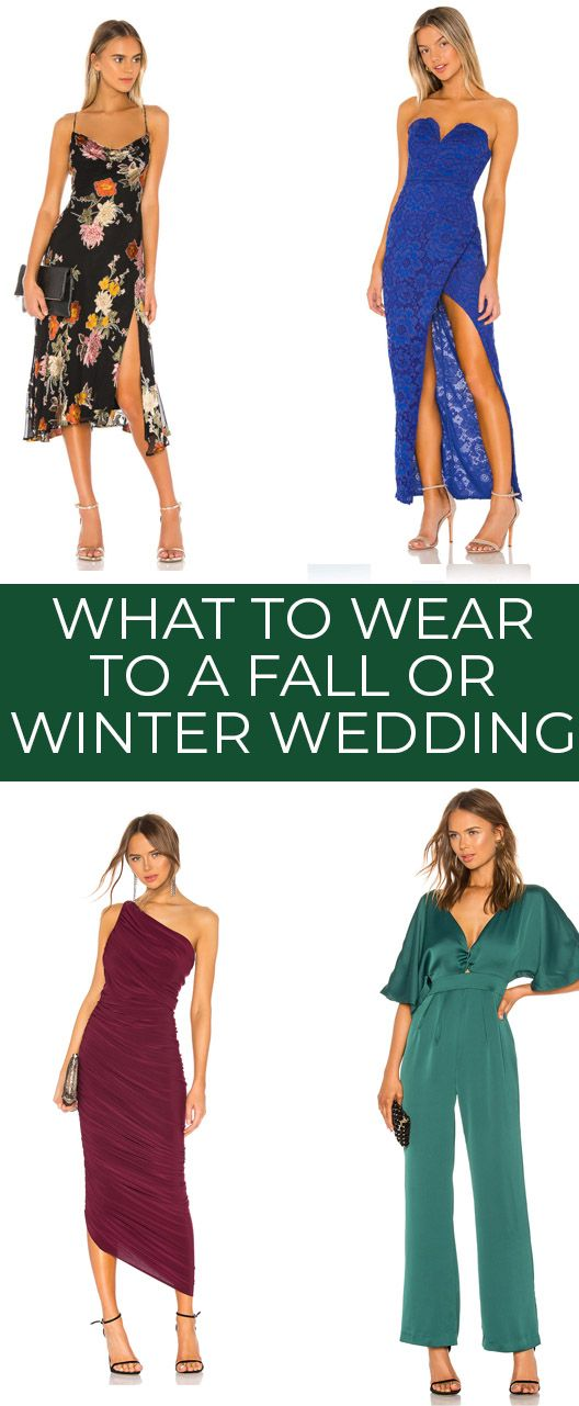 What To Wear To Every Type Of Wedding Dresses For Destination Weddings Dresses For Fall And Winter Weddings Spring And Summer Weddings And More Semi Formal Wedding Attire Formal Wedding Attire