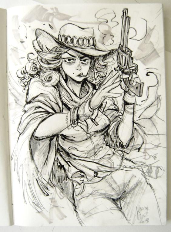 Cowgirl 01 by KarlaDiazC.deviantart.com on @DeviantArt