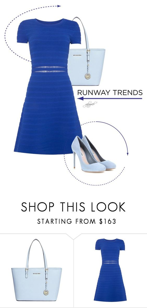 """""""Hot NYFW Runway Trend"""" by gabygrach ❤ liked on Polyvore featuring Michael Kors, Miu Miu, NYFW, fashionset, polyvoreeditorial and polyvorecontest"""