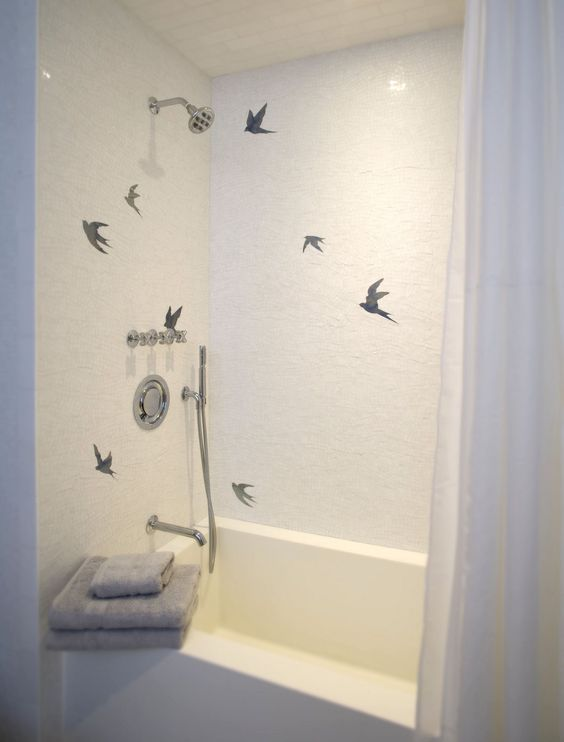 Bathtub Rock N Roll Problems Blue Bathroom Tile Dream Bathrooms Mid Century Modern Interior Design
