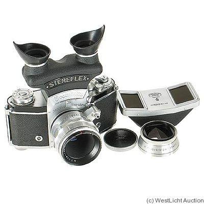 Ihagee: Exakta VX IIa (stereo outfit) camera