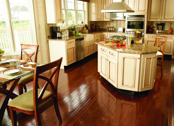 Beautiful kitchen hardwood floors pinterest for Beautiful kitchen floors