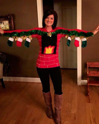 Los Disfraces Caseros Para Navidad Más Originales Trucos Y Astucias Disfraces Navideños Trajes Navideños Ropa Navideña