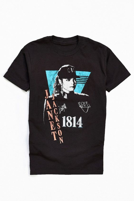 Janet Jackson Rhythm Nation Tee