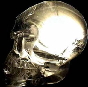 it was acquired over two and a half decades ago by a European businessman and avid hiker, as he traveled around Central and South America. He was given the skull by a very old native man, in a tiny, village, in the Andes, near the borders of Peru, Bolivia and Chile. Called the Synergy Crystal Skull