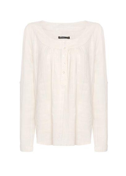 MANGO - Cotton lúrex blouse $19.99