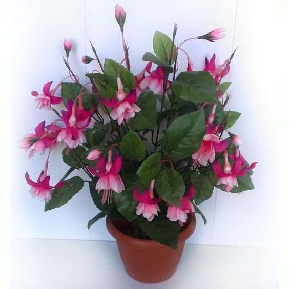 искусственные цветы фуксия - Поиск в Google