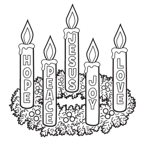Advent candles, Candles and Advent on Pinterest