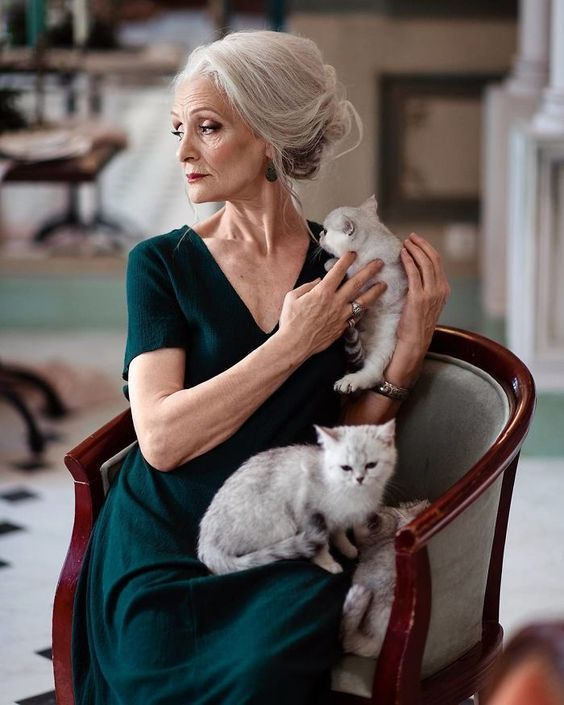 Valentina Yasen, 62 Years Old. Baby boomer model for a Silver generation.