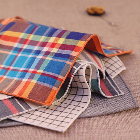 Great styles at amazing prices: 100% Cotton Handk... See it here! http://zepru.myshopify.com/products/100-cotton-handkerchiefs-striped-plaid-pocket-squares?utm_campaign=social_autopilot&utm_source=pin&utm_medium=pin: