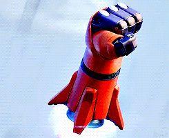 Image result for baymax rocket fist