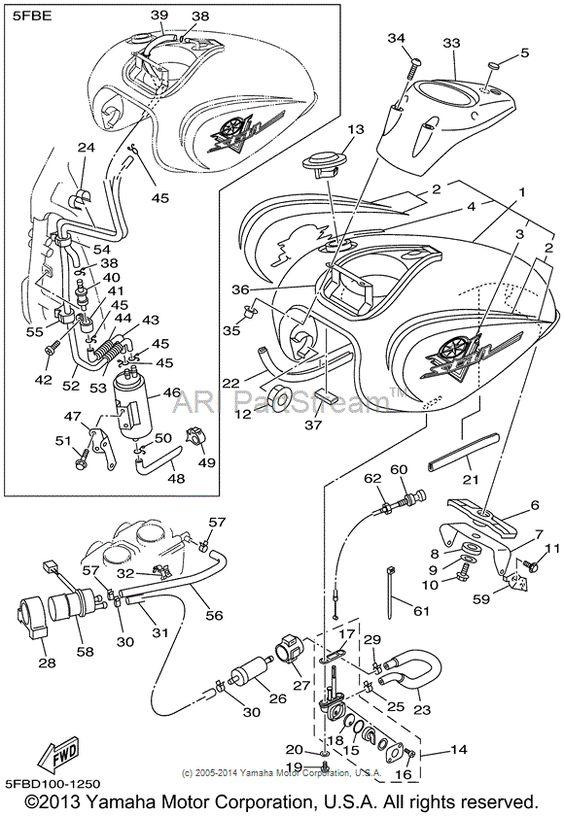 Pinterest the world s catalog of ideas for Yamaha vstar 650 parts