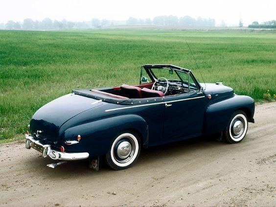 1950 Volvo PV445 Convertible.
