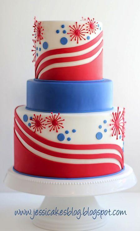 4th July Cake:
