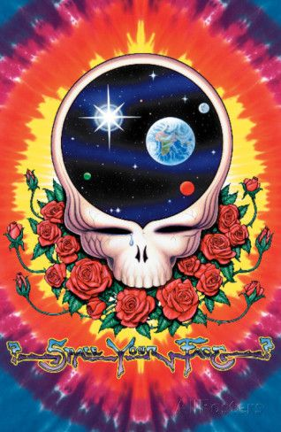 Grateful Dead - Space Your Face Poster bei AllPosters.de