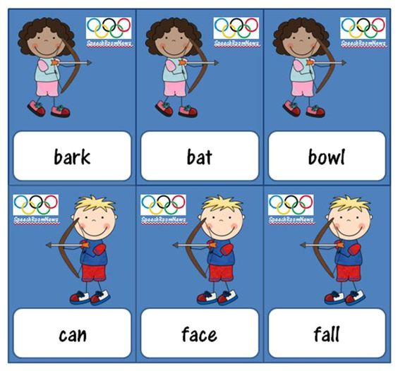Olympics Language Downloads (Multiple meaning words, irregular verbs, upper level synonyms, WH questions)