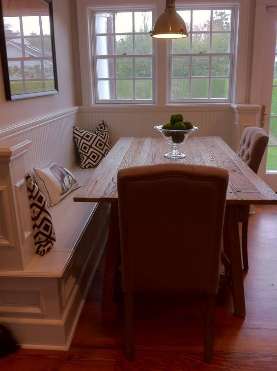 Corner Bench With Dining Table This Could Be Perfect As A