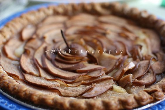 Brie and Pear Tart... make it sweet for dessert or make it with more ...