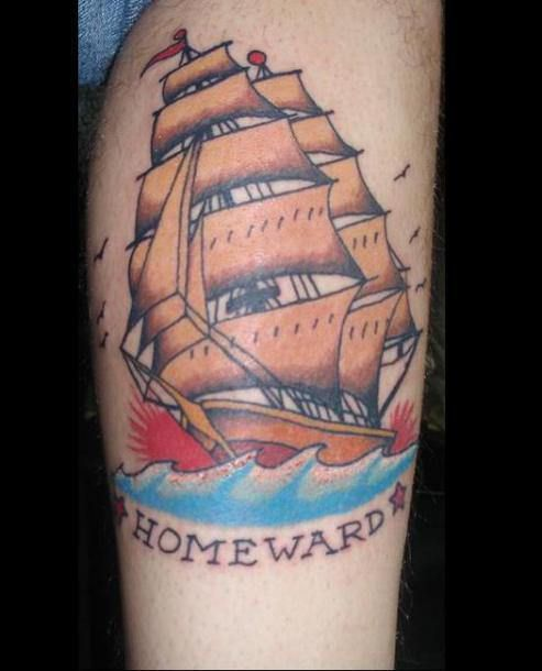 Rock The Boat: 15 Awesome Boat Tattoos