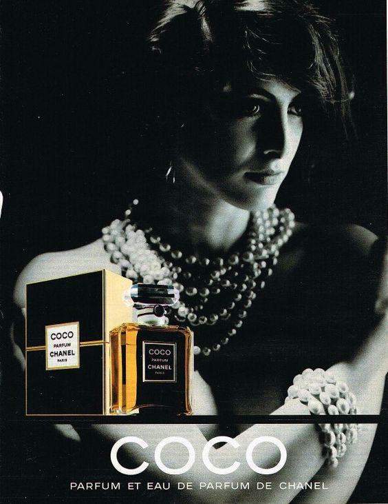 Ines de la Fressange for Coco.