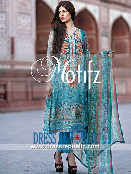 Designer Lawn Suits Online 2014 for Eid by Motifz Buy Online