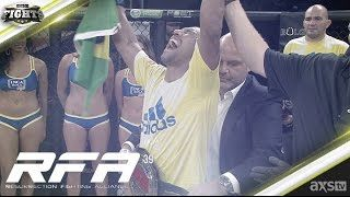 """cool Raoni Barcelos Defends His Title Against """"Wolfman"""" Bobby Moffett at RFA 39 June 17th"""