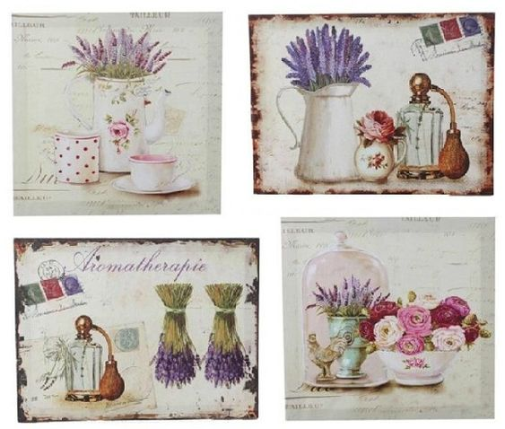 Google blog and vintage on pinterest - Cuadros shabby chic ...