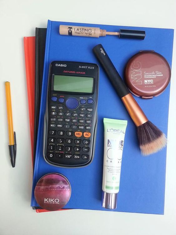Something we don't enjoy hearing, back to school, something we love hearing, makeup! Blogpost on thecurlyandthestraight.com