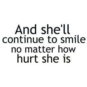 My smile is my best defense... :)