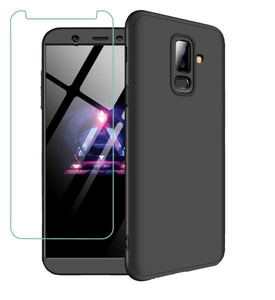 Aviato Samsung Galaxy A6 Air360 Fullbody Case Schwarz Galaxis Samsung Hulle Handy