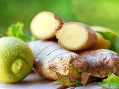 Zitrone und Ingwer können verschiedene Hautprobleme lindern
