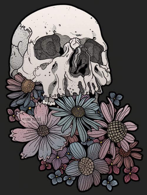 There S Nothing Skeleton Art Skull Art Art