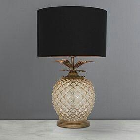 Havana Pineapple Table Lamp Dunelm Table Lamp Lamp Decorative Table Lamps