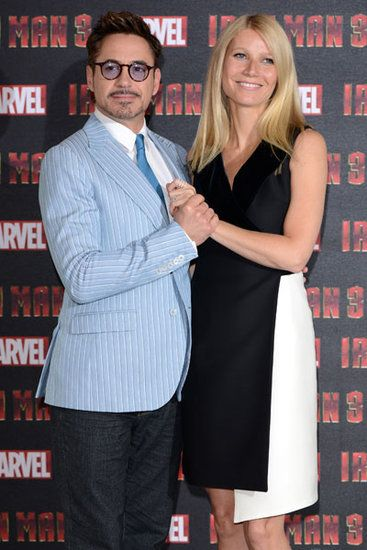 Robert Downey Jr. & Gwyneth Paltrow - UK Photocall for Iron Man 3