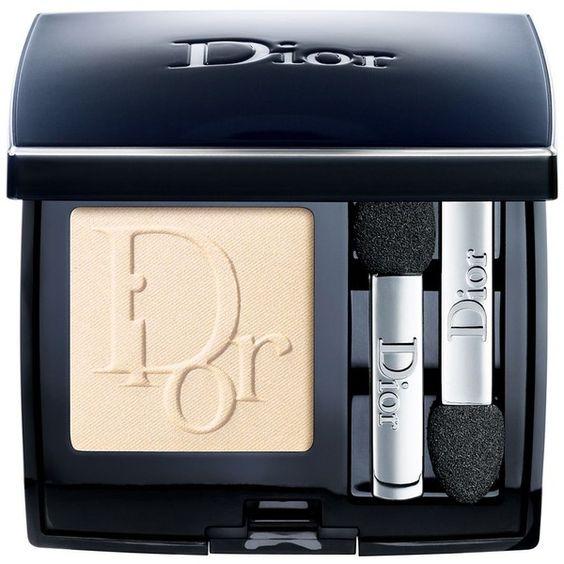 Dior Diorshow Mono Eyeshadow (€26) ❤ liked on Polyvore featuring beauty products, makeup, eye makeup, eyeshadow, nude, matte eye shadow, christian dior eyeshadow, iridescent eyeshadow, matte eyeshadow and nude eyeshadow