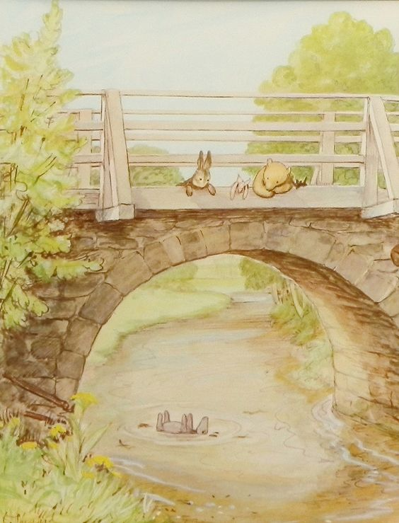 Eeyore winnie the pooh and winnie the pooh nursery on for Classic winnie the pooh wall mural
