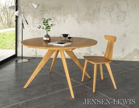Catalina Round Extension Dining Table Esstisch Ausziehbar