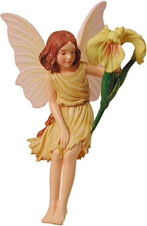 Iris fairy figure