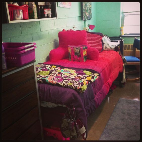 Pink, Dorm And Purple On Pinterest
