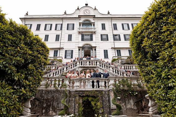 Villa Carlotta beautiful staircases!!!